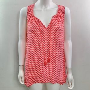 Stylus V Neck Sleeveless Blouse